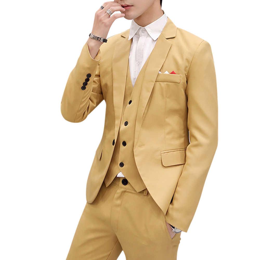 Laamei Men Slim Fit Social Blazer wiosna jesień moda solidny ślub elegancki płaszcz Casual Plus rozmiar biznes męski garnitur kurtka