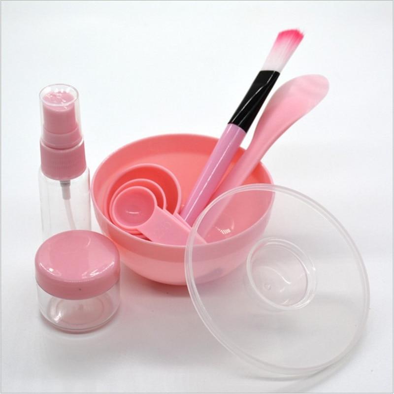 9 in 1 DIY Mixing Bowl Facial Mask Brush Spoon Stick Beauty Make up Set For Facial Mask Tools Makeup Tool Kits Facial Care 3