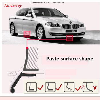 2.5M Car Front Bumper Protector Sticker Styling For nissan juke bmw x5 e70 touareg freelander 2 lada priora mazda 3 bk lada image