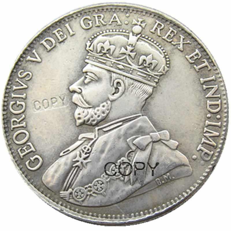 Kanada 1 Dollar 1911 Silber Überzogen Kopieren Münzen