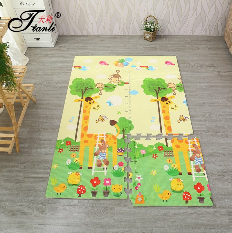 180*120*2cm Baby EVA Foam Play Puzzle Mats Interlocking Exercise Tiles Floor Carpet And Carpet Pads Play Rug Kids For Climbing