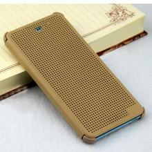 Flip Cover Smart Silicone Case Voor HTC Een A9 Desire 626 EEN 9 626G 626W G 628 628G HTC626 Luxe Originele Dot Telefoon Gevallen
