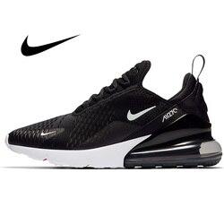Оригинальные атлетические мужские кроссовки Nike Air Max 270 для бега, уличные спортивные кроссовки на шнуровке для бега и ходьбы, новинка 2019