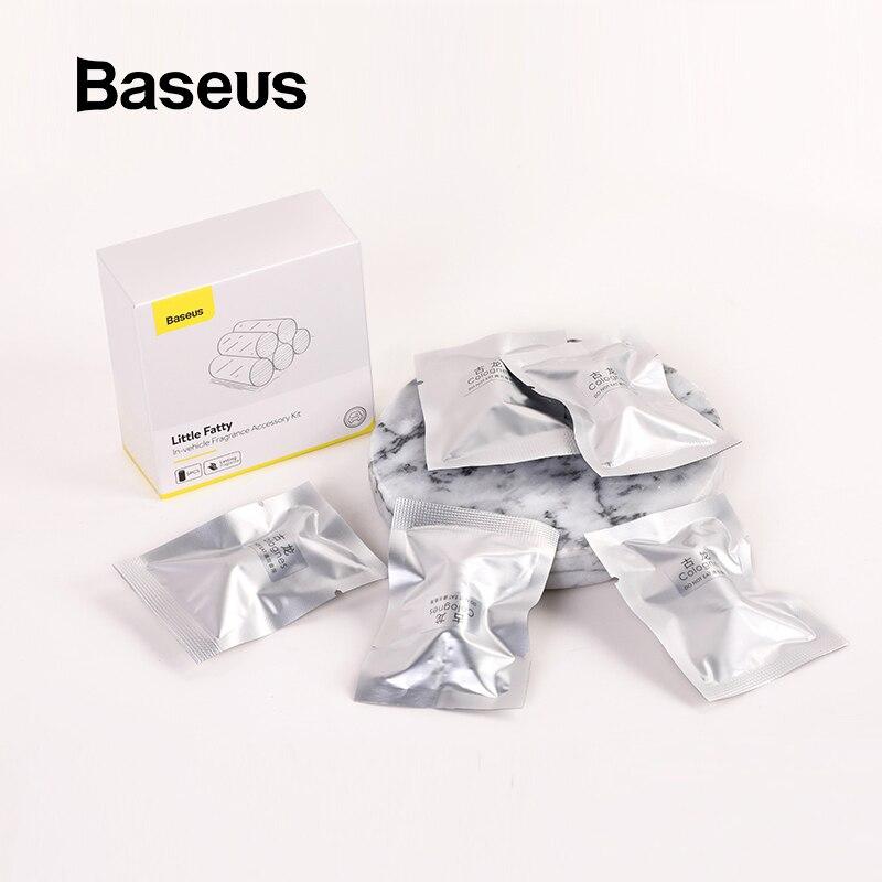 Baseus 5pcs Refills Long Lasting For Car Air Freshener Solid Car Perfume