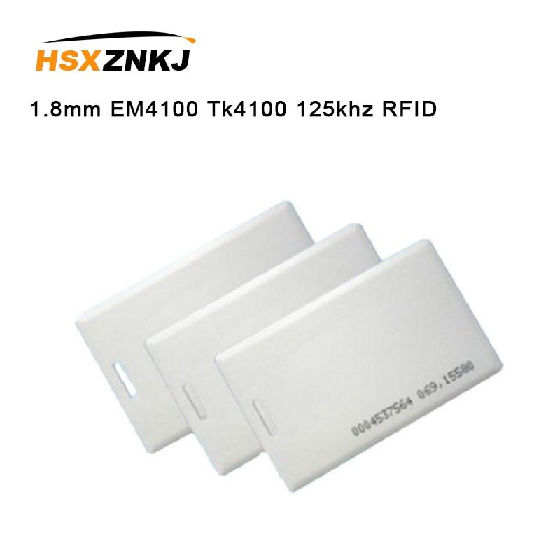 10pcs 1.8mm EM4100 Tk4100 125khz RFID Tag Tags Sticker Key Fob Token Ring Proximity Chip Access Control Card Keyfob