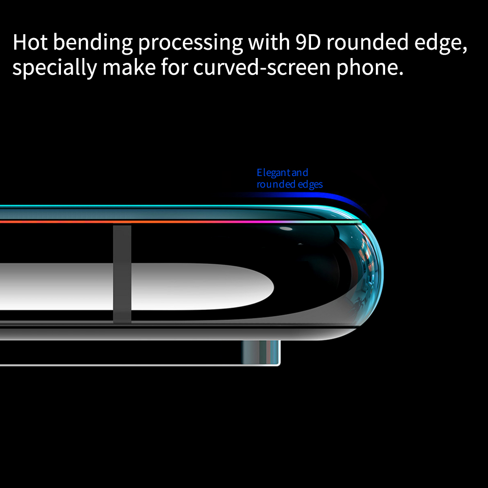 Oneplus 8 Pro Nillkin Amazing 3D DS+ Max Tempered Glass Protector 5