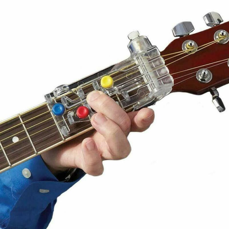 Acoustic Guitar Chord Buddy Teaching Aid For Guitar Learning Guitar Learning System Chordbuddy Guitar Tools Guitar Accessories