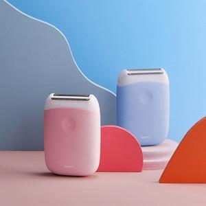 Image 5 - SMATE 3in1 ミニ電気シェーバーポータブル防水 USB 充電式脱毛バリカン清潔で快適