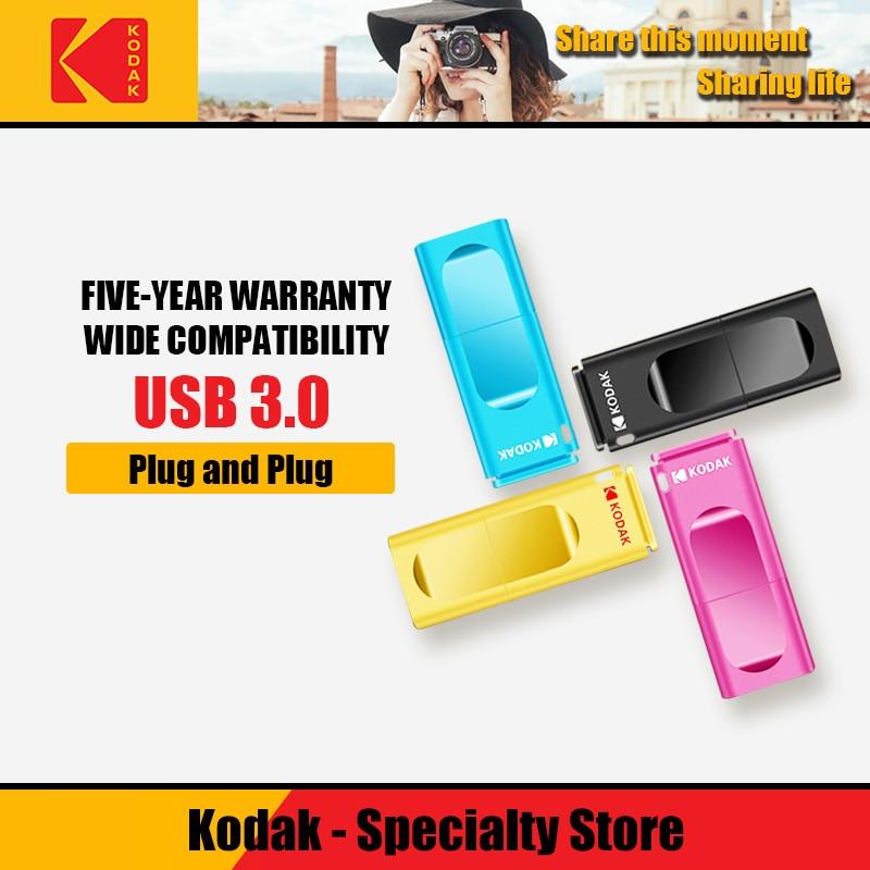 Kodak K233 Pen Drive USB 3.1 Metal USB Flash Drive 16GB 32GB Memory Stick USB 3.0 64GB 128GB U Disk 256GB Pendrive USB Stick