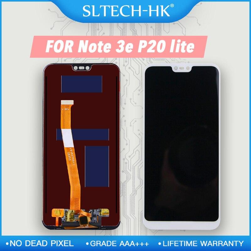 2280*1080 AAA + + + dla HUAWEI P20 Lite LCD z ramką ekran dla HUAWEI P20 Lite ANE-LX1 ANE-LX3 Nova 3e