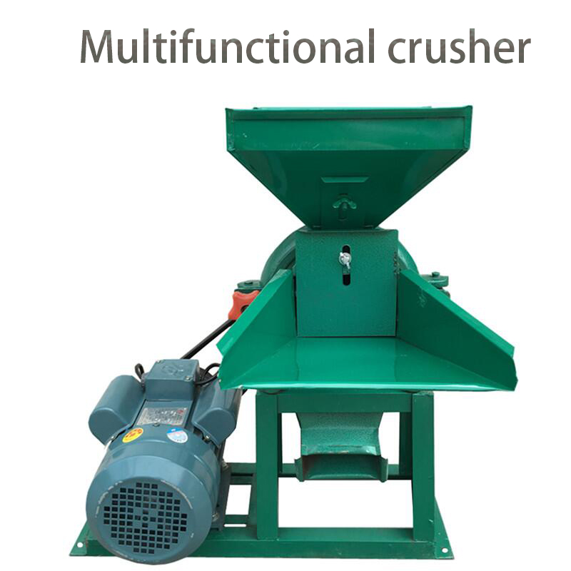 Corn Crusher Feed Rice Yellow Bean Chinese Herbal Medicine Mill Powder Machine Crusher