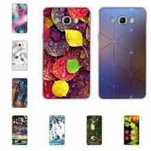 Funda de silicona para Samsung Galaxy J7 2016, carcasa trasera para Samsung J7 J710, Capa romántica, pintura 3D para Galaxy J7 2016, bolsa de 5,5 pulgadas