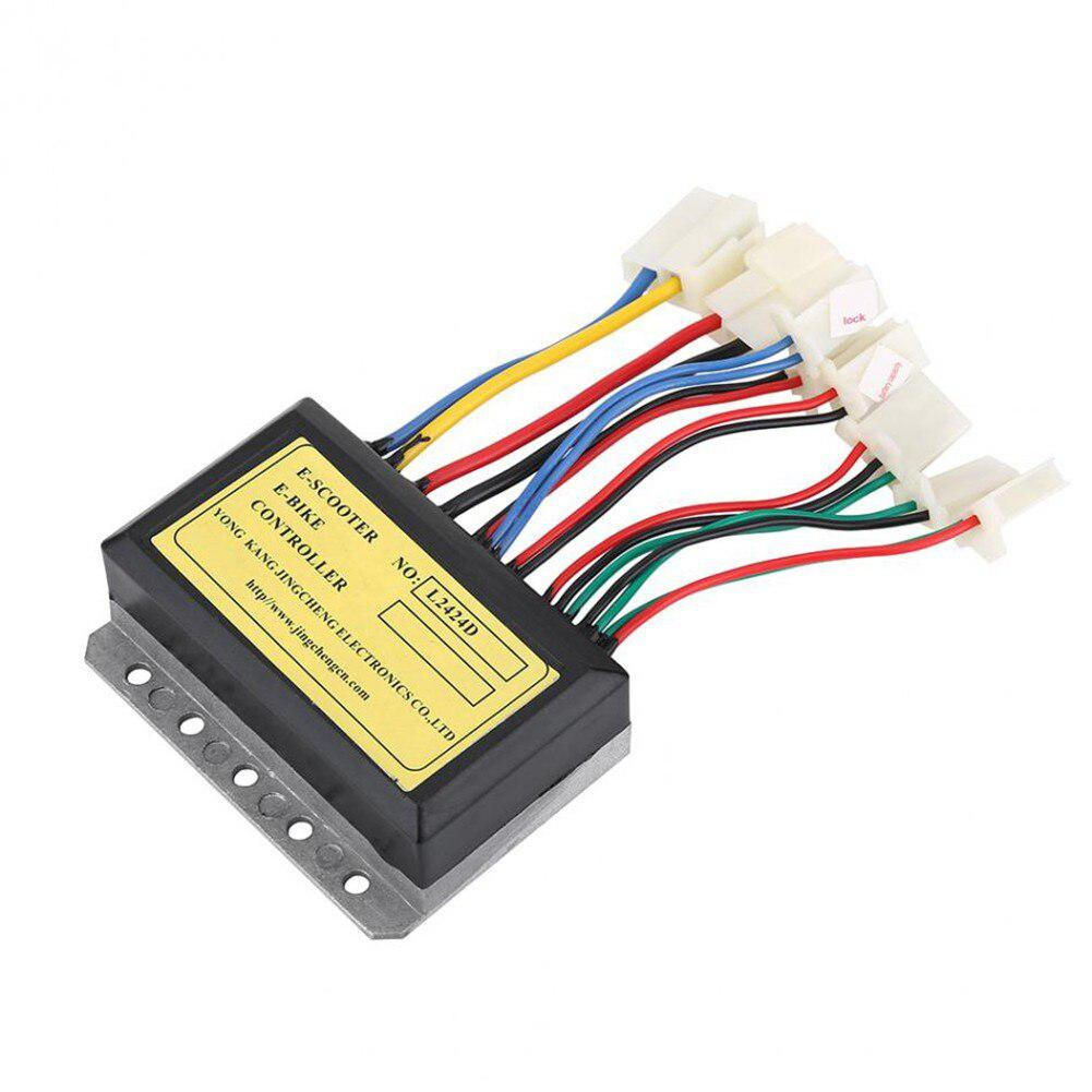 24V 250W E-Scooter E-Bike Controller Motor Brush Controller For Electric Bicycle Accessories