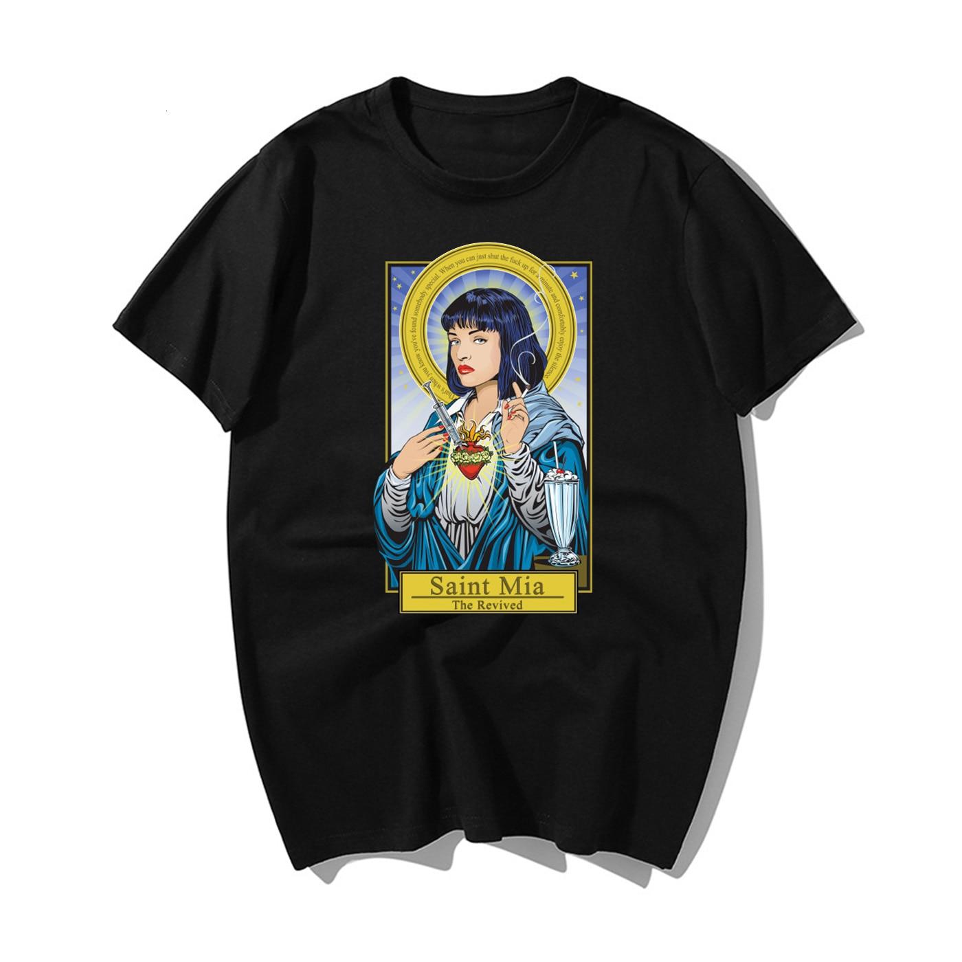 Fictional Goddess T shirt man Gothic Tumblr Harajuku Kawaii Aesthetic Plus Size Short Sleeve Cotton Top Tees Tee t Shirt men|T-Shirts| - AliExpress