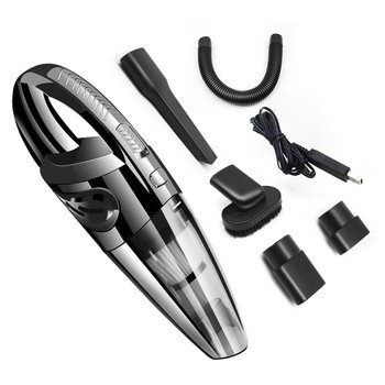 Wireless Home Car Vacuum Cleaner 120W USB Cordless 3200kPa High Power Wet Dry Portable Handheld Vacuum Cleaner handheld wireless vacuum cleaner home 120w usb cordless wet dry mini vacuum cleaner dust collector for home car cleaning