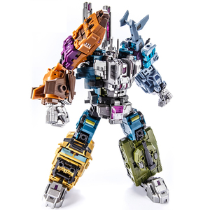 Image 3 - Transformation Bruticus 5IN1 G1 PT05 PT 05 Oversize 27CM Anime Action Figure Robot Kids Toys Combination Deformation Collection