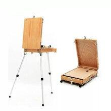 Настольный мольберт Caballete краски художника масляная краска акварельный мольберт стенд Chevalet En ноутбук краска ing инструмент коробка художественные принадлежности