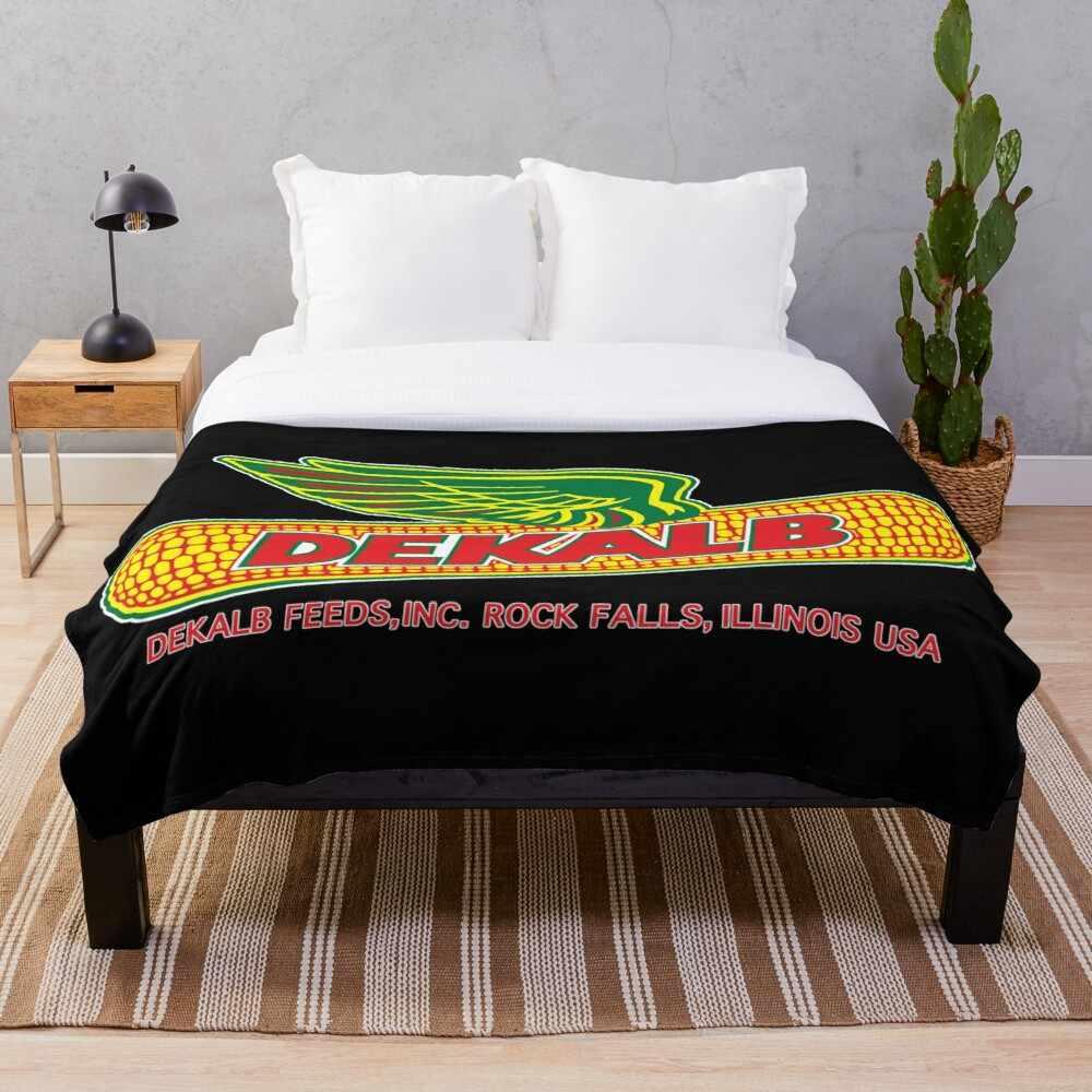 Dekalb 2 Blanket Wool Flannel Plush Blanket Bedspread For Office Sherpa Blanket Couch Quilt Cover Travel Blankets Aliexpress