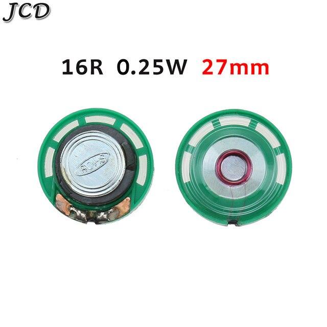 Фото jcd 1 шт новый зеленый ультратонкий мини динамик 32 16 8 ом