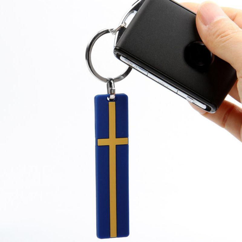 1 stück Schlüssel Kette Ring Für VOLVO XC90 XC60 XC40 S90 S80 S60 V70 V60 V50 V40 S40 C30 Schweden flagge Schlüssel Kette Personalisierte Dekorativ