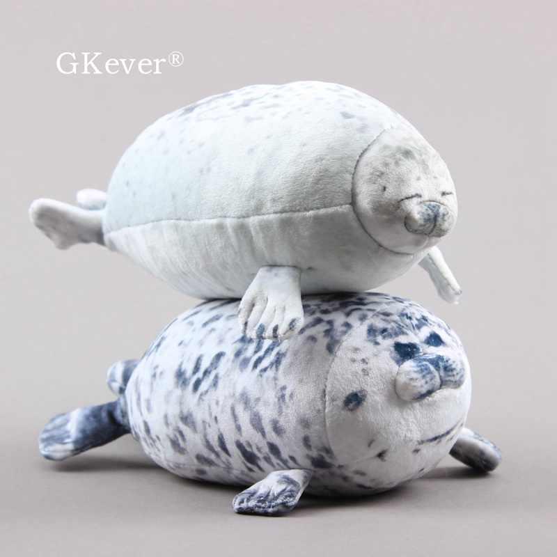 Travesseiro De Pelúcia Brinquedo Animal Chubby Blob Selos Linda Boneca De Pelúcia Animal Oceano