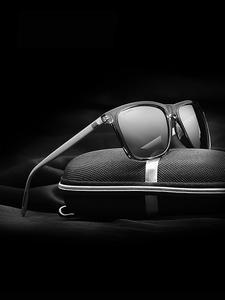 TR90 Sunglasses Eyewear Polarized-Lens VEITHDIA Retro Vintage Aluminum Men/women