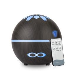 400ML ultradźwiękowy nawilżacz powietrza Aroma dyfuzor olejków eterycznych dla domu Fogger Mist Maker z led lampka nocna w Nawilżacze powietrza od AGD na