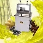 300 KG/H exprimidor eléctrico de caña de azúcar de acero inoxidable comercial máquina de jugo de caña de azúcar exprimidor comercial 220V 370W - 2