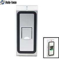 Metal IP65 Waterproof Biometrics Fingerprint Access Control System 1000 Users RFID 125khz Reader Door Access Control