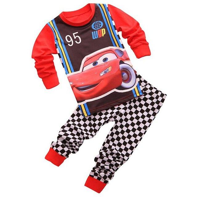Pijamas para niños Pixar Cars Lightning McQueen 5