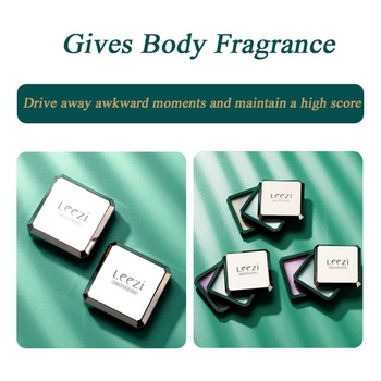 2 Kinds of Solid For Men Women Magic Balm Iron Box Easy To Carry Body Fragrance & Deodorants