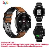 696 MT1 música reloj inteligente Bluetooth llamada Smartwatch conectar auricular con Altavoz Bluetooth auriculares hombres pulsera/Correa inteligente MT2
