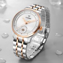 CADISEN 2021 nowy męski zegarek mechaniczny japonia NH35 automatyczne zegarki Movt Sport 50M wodoodporny luksusowy zegarek na rękę Relogio Masculino tanie tanio 5Bar CN (pochodzenie) Klamerka z zapięciem Luxury ru Mechaniczna nakręcana wskazówka Samoczynny naciąg 21cm STAINLESS STEEL