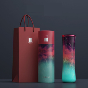 450ML Thermos Double wall 316 Stainles Steel Water bottle with filter Thermos bottle Insulated Vacuum Flask with Gife box