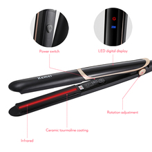 Flat Curling Digital  Hair Straightener