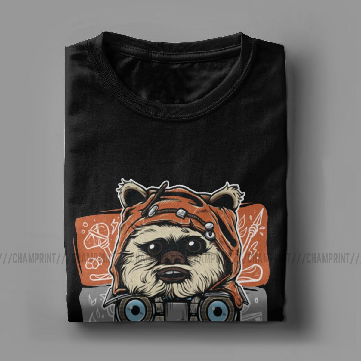 Novelty 80s Horror Christmas Movie Lcon T-Shirt Men Cotton T Shirts Gremlins Gizmo Monster Gremlin Tee Shirt Plus Size Clothing