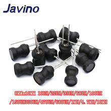 цена на 10pcs/Lot Power Inductor 8x10mm 10uh 22uh 33uh 47uh 68uh 100uh 150uh 220uh 1mh 10mh DR CORE Inductors Word