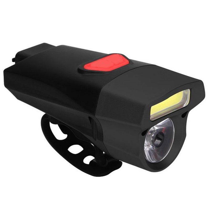 Bicycle Headlights Battery Waterproof Flashlight Cycling Bicycle Light Led Lights Night Riding Equipment