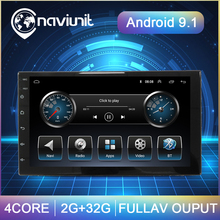 Car-Radio Multimedia-Player Gps Navigation Audio-Stereo Android 9.1 Universal Nissan