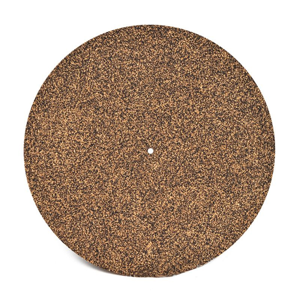 Flat Round Soft Mat Ultra Thin Cork Rubber Home Disc Revolving Accessories LP Player Record Pad Vinyl Turntable Anti Static|Turntables| |  - title=