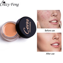 Brand Full Cover Concealer Oil-control Lightweight Waterproof Cream Smoothing Highest Coverage Concealer Daily Makeup Cosmetics