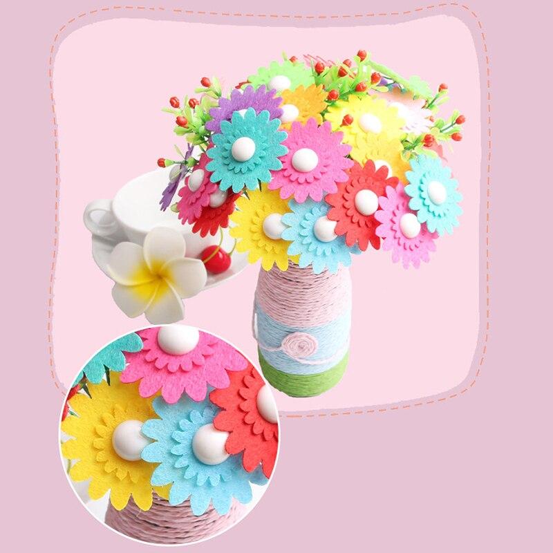Toys & Games Felt Kits alpha-ene.co.jp Chnaivy Flower Craft Kit ...