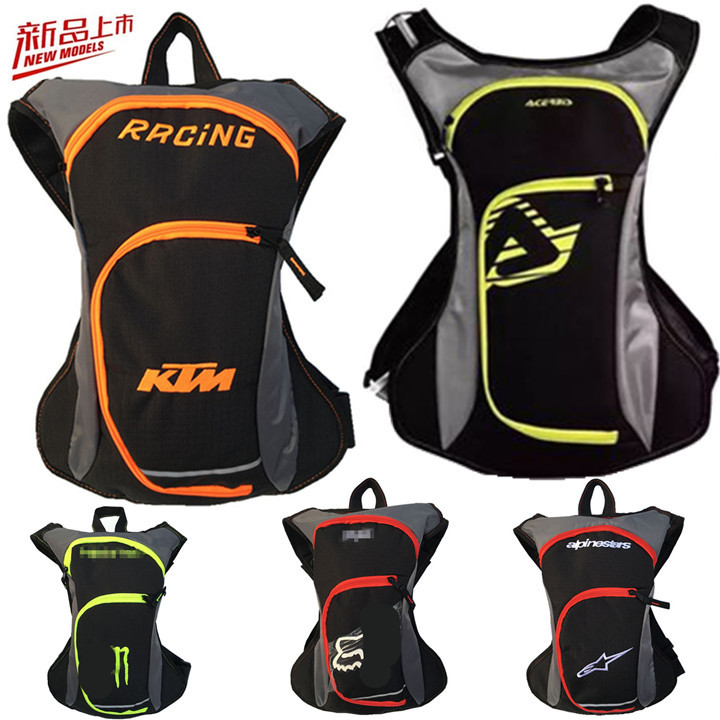 KTM Backpack Riding Hydration Backpack A Star Backpack Off-road Riding Motorcycle Traveling By Motorcycle Water Bag Outdoor Back