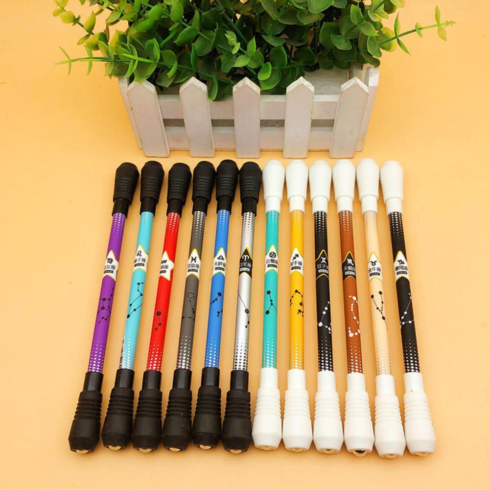 1PC Smooth Surface Ant-slip Anti-drop Spinning Rotation For Fluent Pen Pen For Kids Writing 0.5 With Head G5S8