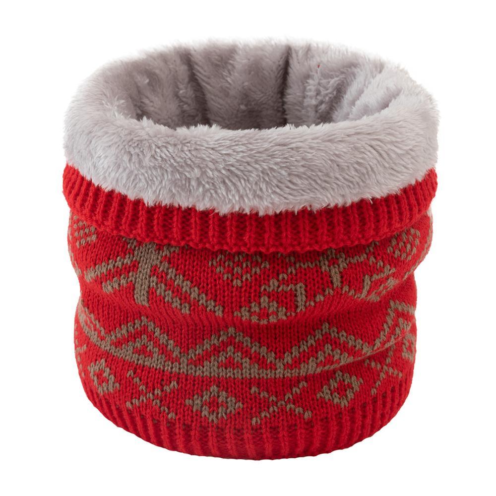 Scarf Ring-Scarves Mufflers Neck-Warmer Knitted Girl Winter Unisex Women Collar Children