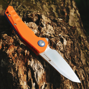 HX OUTDOORS Folding Knives KNIFE AUS-8 Blade Steel G10 Handle Knife Camping Survival Pocket Outdoor Hunting Knife EDC Tool Knife hx outdoors survival fixed knife bamboo handle camping knife black blade saber tactical tools cold steel hunting straight knife