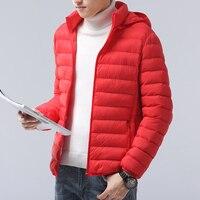 2019 New stylish Mens Jacket Autumn Winter Down Windbreaker Overcoat male casual Warm Hoodies Parka Male Coat Fashion Outerwear