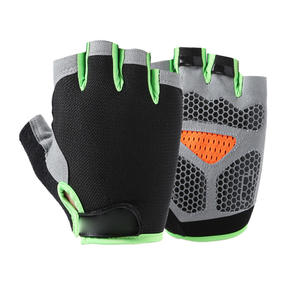 Fitness-Gloves Fingerless Riding Outdoor Sports Protective Spring Non-Slip Breathable