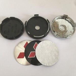 4 pçs 56mm 60mm 65mm 68mm centro da roda emblema do carro hub tampas emblema tampas adesivo estilo do carro acessórios