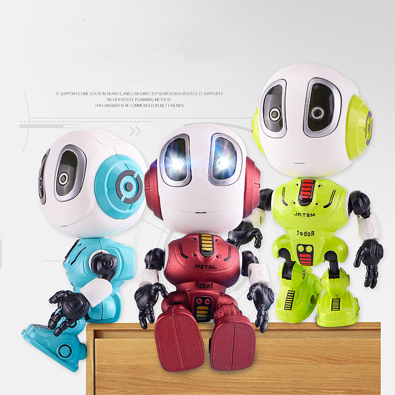 Recording Talking Robot For Kids Children Toys Educational Robots Toys LED Eyes Contact Control Best Birthday Gifts For Kids